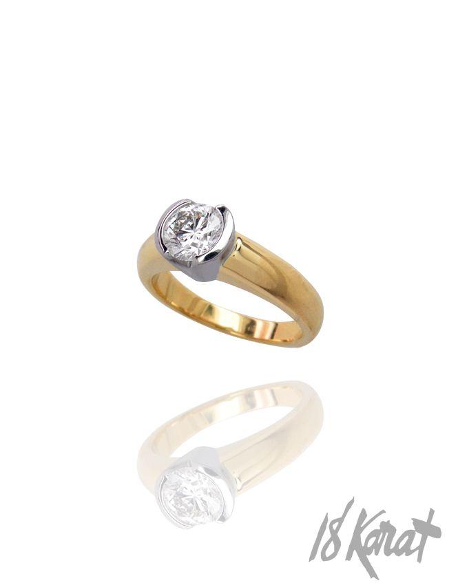 May's Engagement Ring | 18Karat