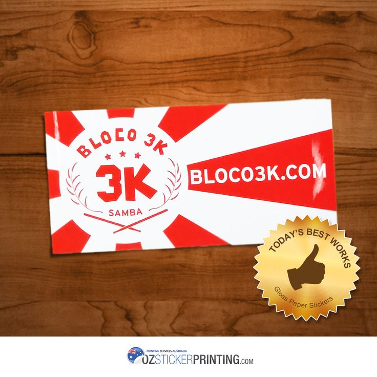 Featuring Bloco 3K Gloss Paper Stickers, 100x50mm. Get your own #paperstickers now! Avail Winter #Sale and claim 10% OFF #Coupon! #customstickers #glosspaperstickers #artpaperstickers #Labels