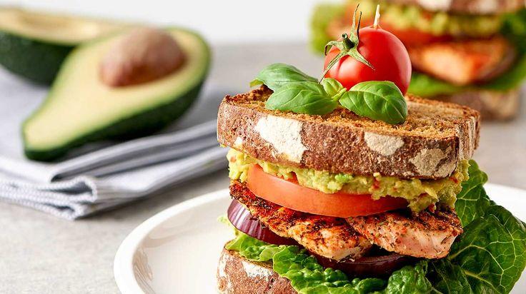 Znalezione obrazy dla zapytania guacamole i indyk tosty