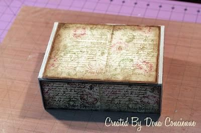 Altered Cigar Box and Quick Tutorial