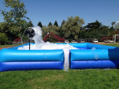 Inflatable Foam Machine Rentals Los Angeles Foam Machines