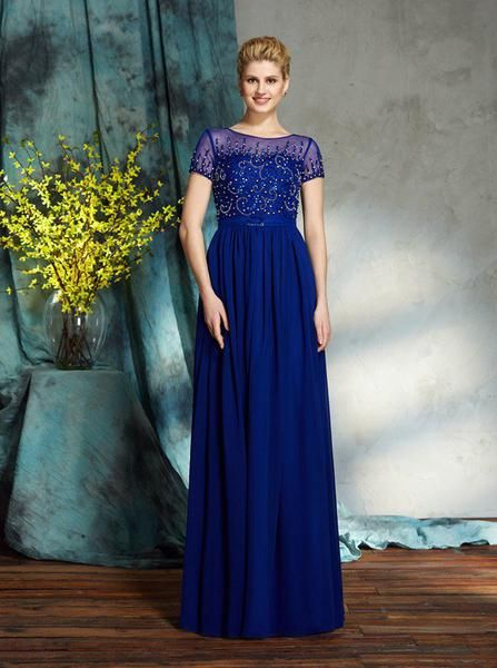 Royal Mother of the Bride Dresses
