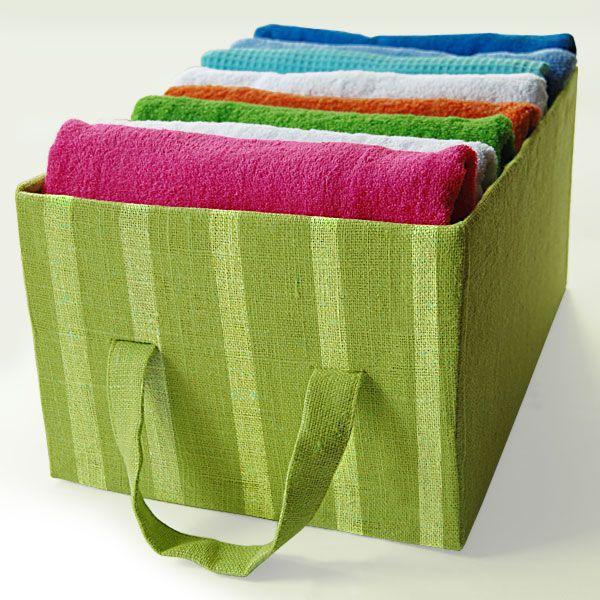 DIY: Kartónový úložný box!