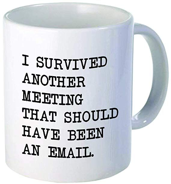 Amazonsmile I Survived Another Meeting Should Have Been An