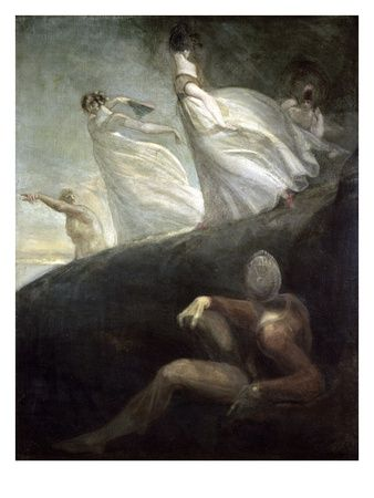 The Ladies of Hastings by Henry Fuseli. Giclee print from Art.com.  www.artexperiencenyc.com