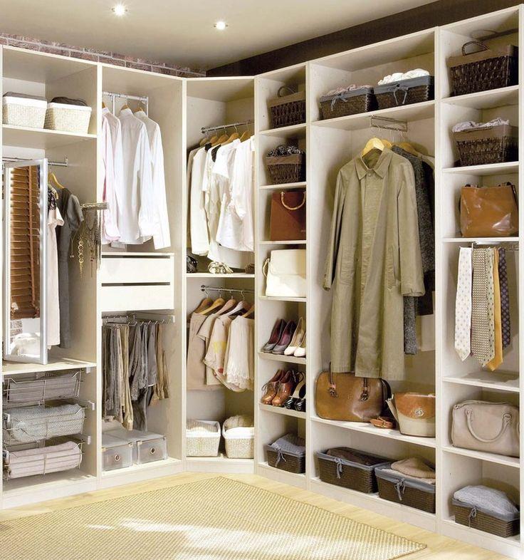 M s de 1000 ideas sobre organizaci n del vestuario en - Armarios zapateros originales ...