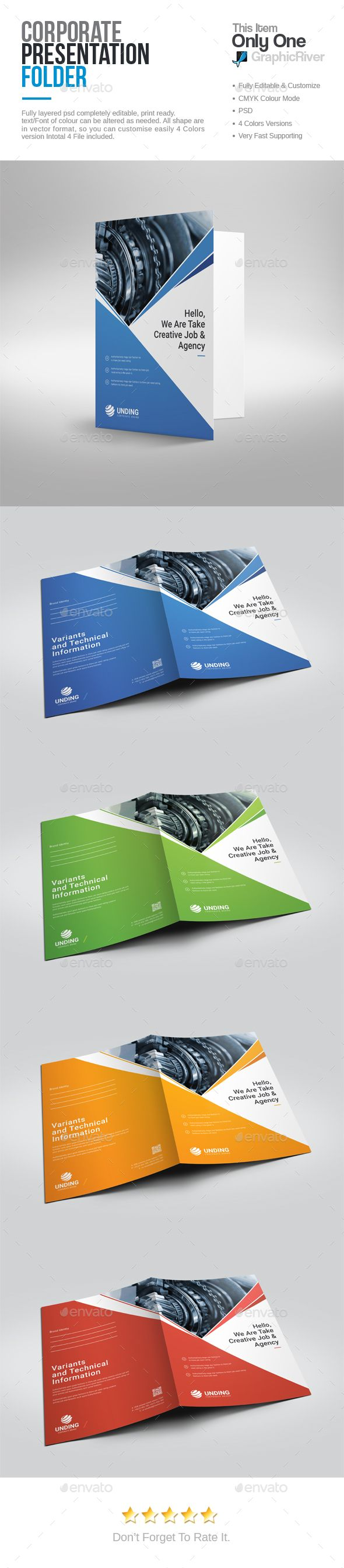 61 best presentation folders images on pinterest | presentation, Presentation templates