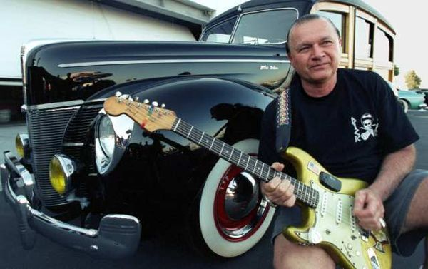 Dick Dale,I carried (his) this guitar around Disneyland.