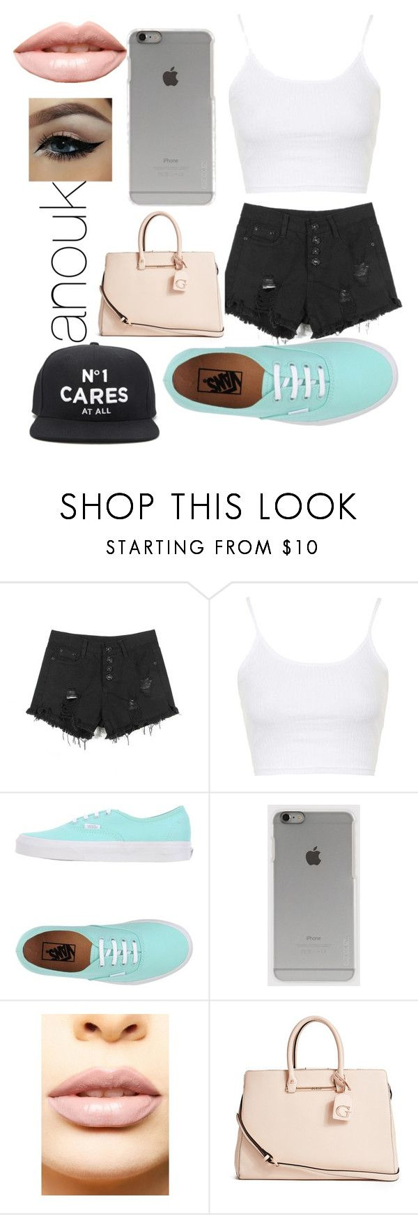 """Untitled #46"" by lauraederveen on Polyvore featuring Topshop, Vans, Incase, LASplash, GUESS, Forever 21, women's clothing, women's fashion, women and female"