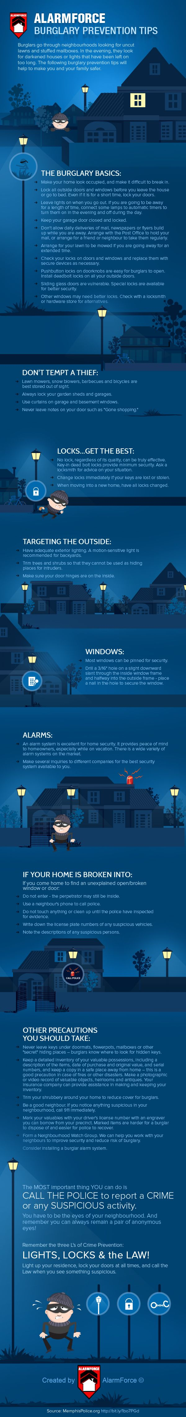 164 best images about Home Security Infographics on ...