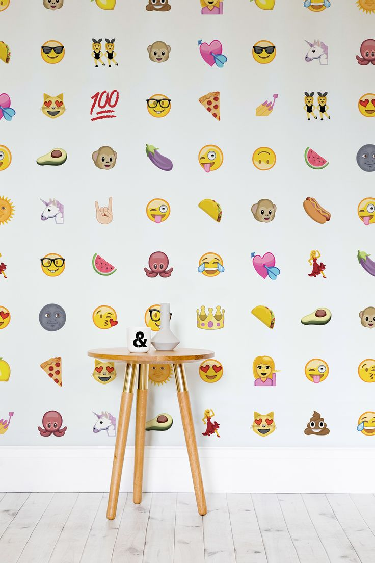express yourself with this emoji wallpaper design with a wonderful mix of charming emoji characters charming wallpaper office 2 modern