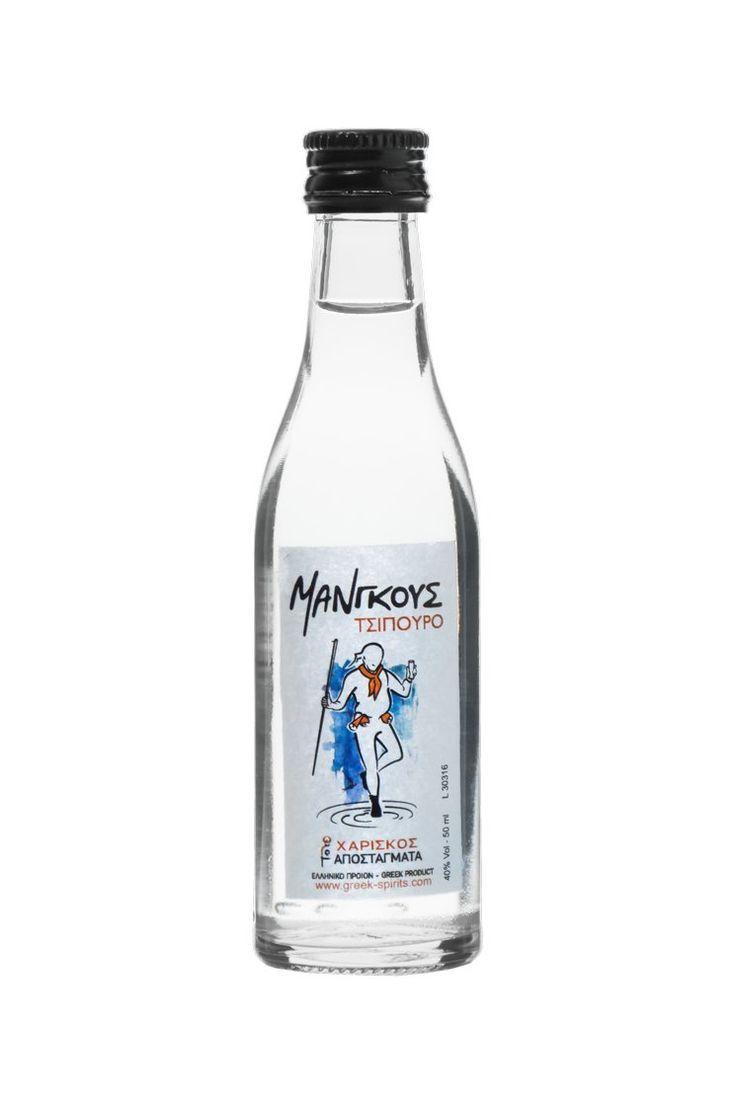 Τσίπουρο Μάνγκους - 50 ml 40% vol. - Tsipouro Mangoos