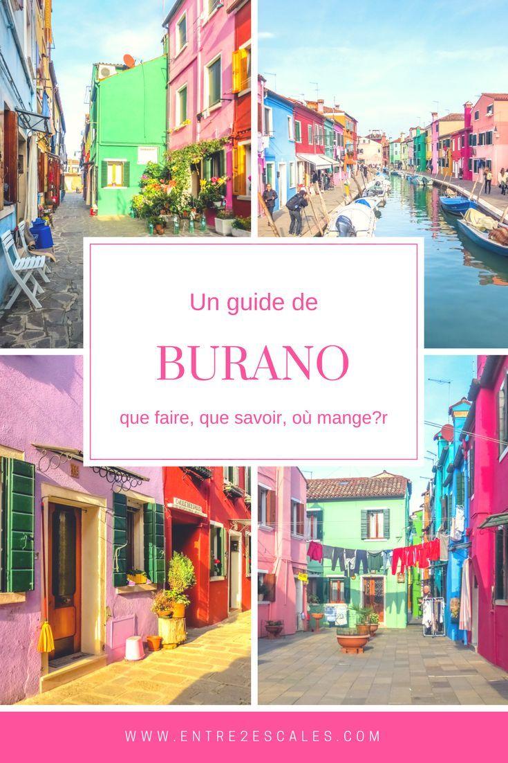 Notre guide pour découvrir l'île de Burano.