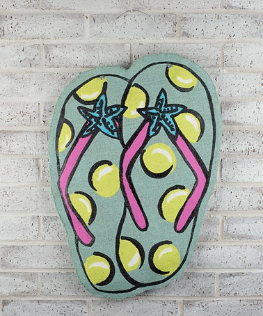 Take a look at this Flip Flop Sign by Glory Haus on #zulily today!