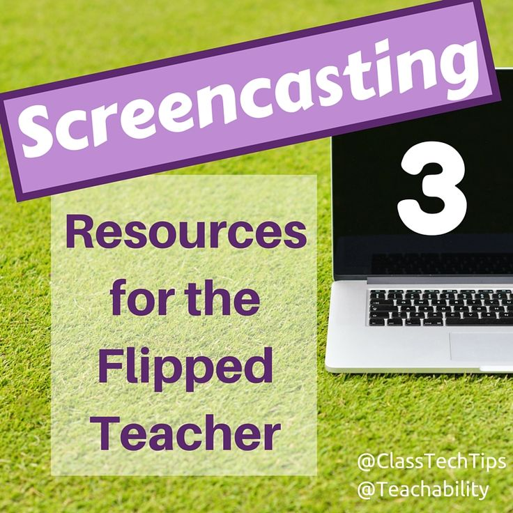 Teachers looking to flip their classrooms can explore a variety of tools. Screencasting is the process of recording what you are doing on your tablet or computer. It's like taking a screenshot but includes audio and video recording too. In the flipped classroom screencasts can be used to create the video clips you ask students to watch before class to prepare for a lesson. There are a handful of great... Read Article → - Com links para 93 ferramentas este E-Book gratuito em…