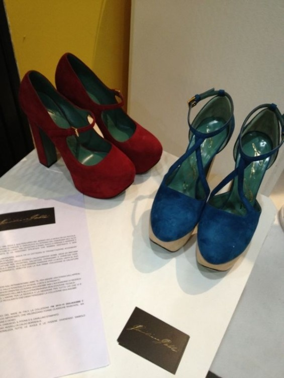 suede shoes with platform