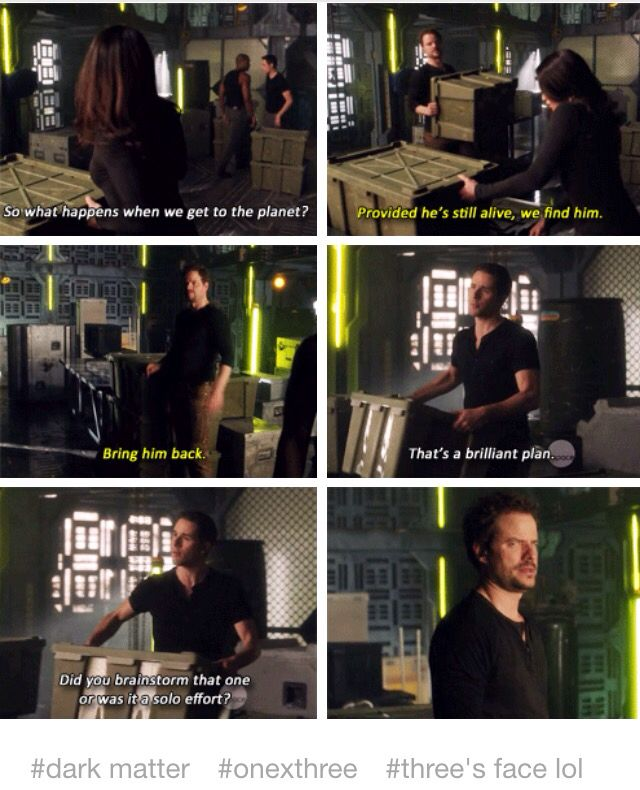 oh dark matter is one of my favorite shows