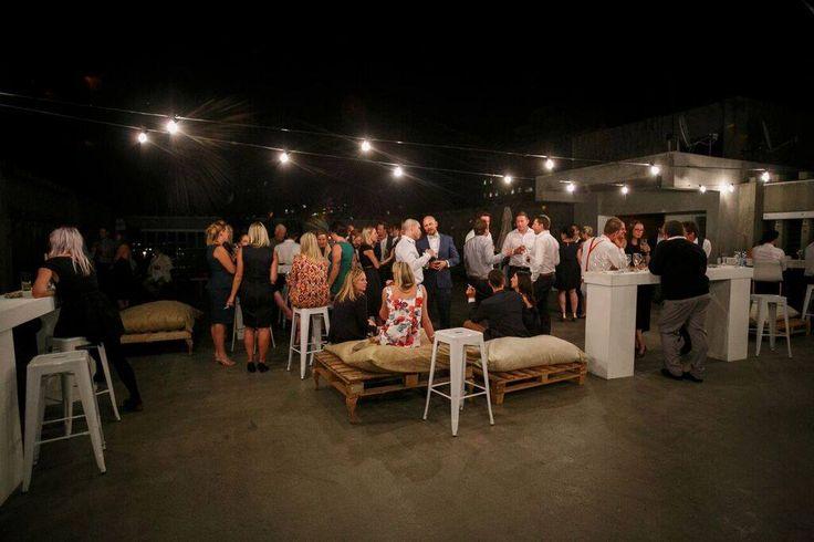 Tropic inspired wedding in Braamfontein - Roof Top Wedding