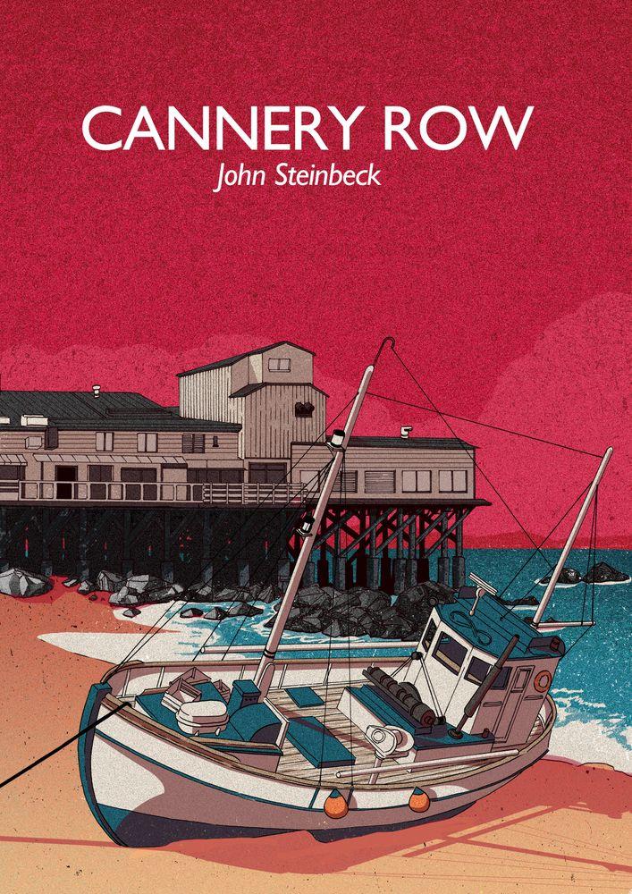 Cannery Row John Steinbeck Framed Art Print By Joseph William Vector Black Medium Gallery 20x26 In 2020 Prints Essay