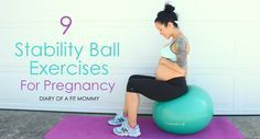 Diary of a Fit Mommy » Prenatal Fitness Ball Workout Routine