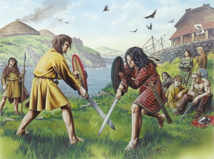 Iron Age 'Celts' - Caledonians, Picts and Romans - Scotlands History Celtic' is broadly defined by language, and by the art, artefacts and human remains of Iron Age peoples. 'Celtic Scotland' saw the native population of the Later Bronze Age adopt new technologies and aspects of culture from the peoples that they traded with. The Iron Age in Scotland began c 700 BC and continued to around AD 500.