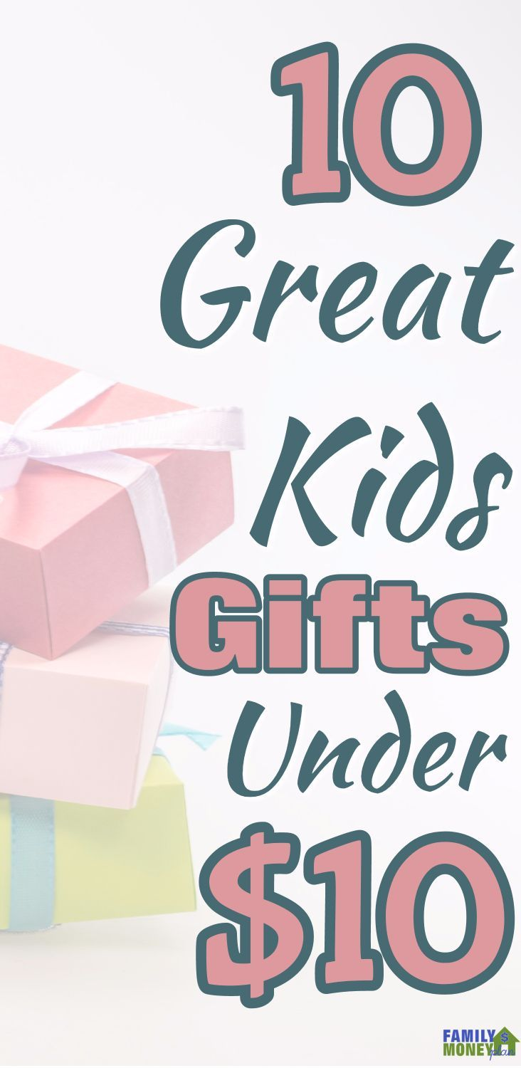 It's not too late to find some great kids gifts under $10. Here are over 10 that our kids have been asking to get. The last one is so cool!