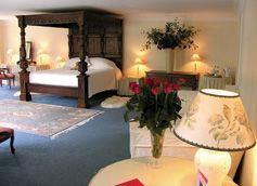 Nanscawen Manor House B&B , Prideaux Road, St Blazey, Cornwall – Good, quality and luxury B&B / bed & breakfast