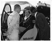 Dr. Dora Jean Dougherty Strother (also known as Dora Dougherty McKeown and/or Dora Strother McKeown; November 27, 1921 – November 19, 2013),[1][2] was best known as a Woman Airforce Service Pilots (WASP) and B-29 Superfortress demonstration pilot. She was a U.S. military pilot, human factors engineer with Bell Aircraft, instructor at the University of Illinois and helicopter test pilot for Bell Aircraft.