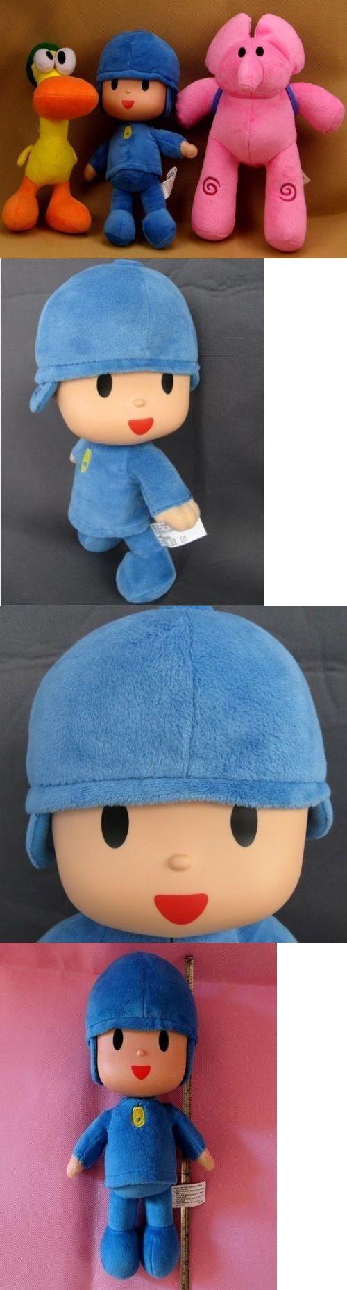 TV Movie and Character Toys 51031: 1Set 3Pcs Bandai Plush Pocoyo Elly Pato Soft Plush Dolls Stuffed Figure Toy Doll -> BUY IT NOW ONLY: $38 on eBay!