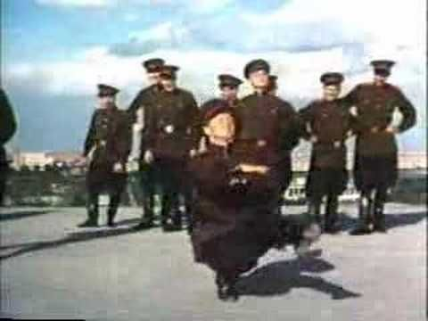 Soviet Army - dance of the soldiers - YouTube
