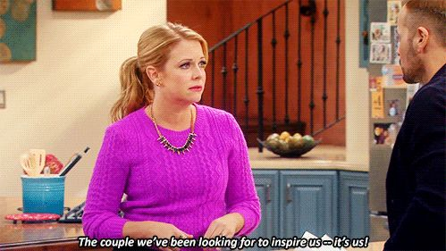 The couple we've been looking for to inspire us-- its us! | Melissa & Joey