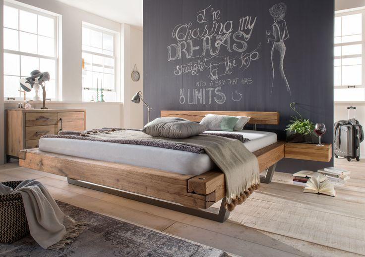 Ein #Bett für entspannte Nächte durch die Ausstrahlung der natürlichen und vollmassiven Wildeiche. :)