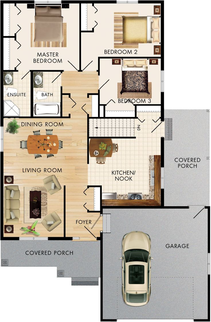 Brandon ii floor plan