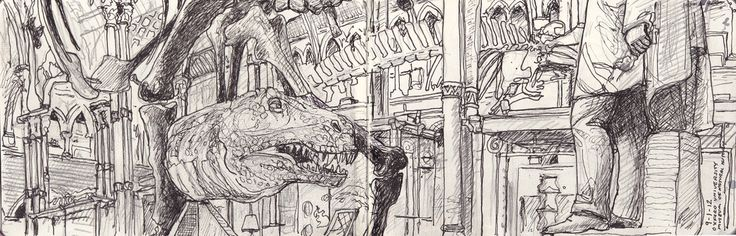 Oxford University Museum of Natural History (T Rex and Prince Albert)