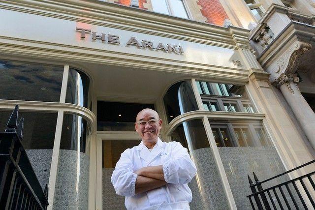 Mitsuhiro Araki, sushi chef