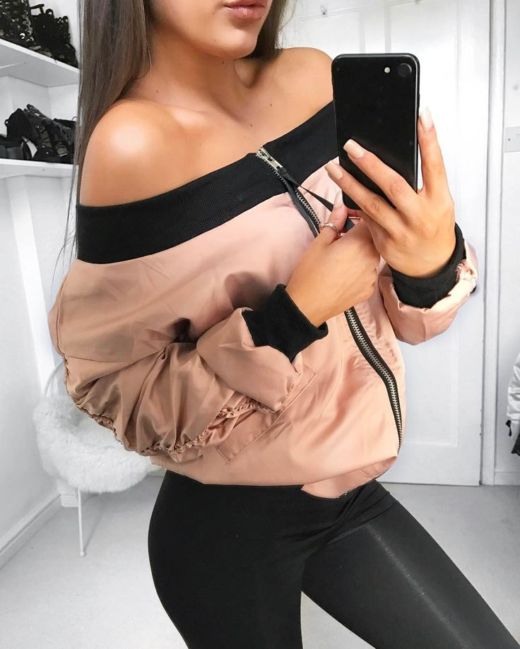 Bardot bombers from @misspap @megan_mckenna_ collection