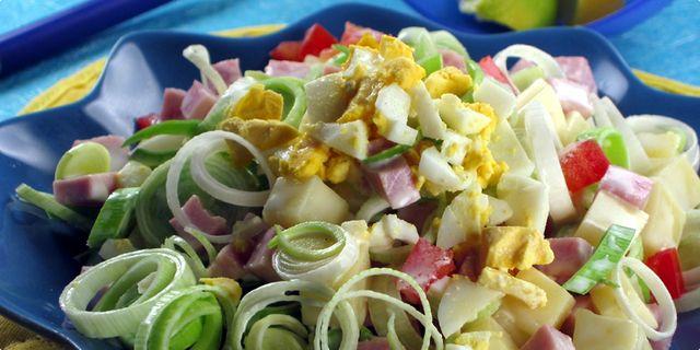Míchaný salát s pórkem. Recepty — Podravka | S Podravkou chutná lépe