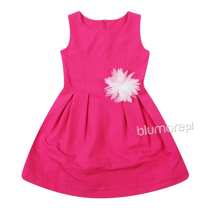Śliczna sukieneczka Wiki w intensywnym kolorze — niezastąpiona kreacja na wiele okazji. Świetna do wizytowych i codziennych stylizacji. Polecamy! | Cena: 89,00 pln