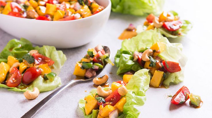 Asian-style Mango Salad
