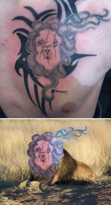 Tatuaje Feo De Leon Tatuajes Pinterest Tattoos