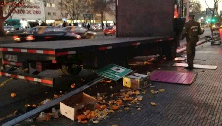 Cámaras de seguridad registran incidente que terminó con atropello múltiple en la Alameda