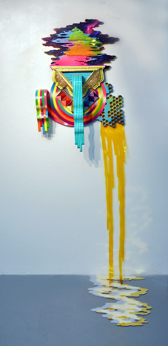 """Hilary White's Cosmic Assemblage Series, """"Seer"""" 