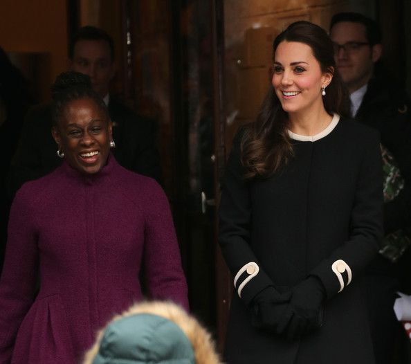 8 Dec 2014:  The Duchess of Cambridge Meets Chirlane McCray