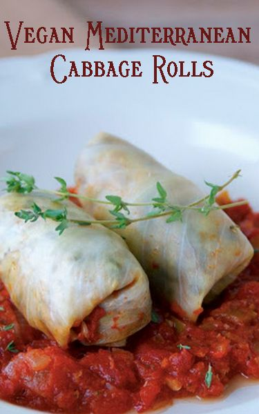 #MeatlessMonday with #Vegan Mediterranean Cabbage Rolls http://www.miratelinc.com/blog/meatless-monday-with-vegan-mediterranean-cabbage-rolls/ #csr