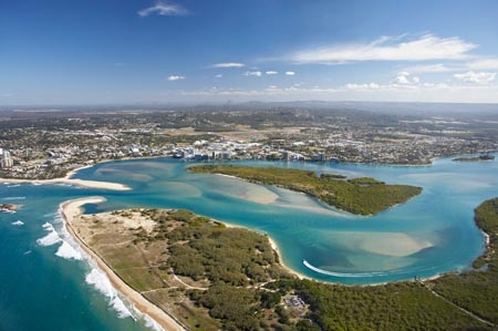 Maroochy River entrance and Maroochydore