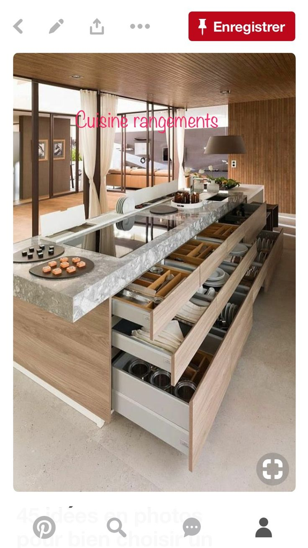 Super Tolle Idee Für Eine Praktische Kücheneinrichtung