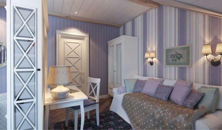 Arredamento casa al mare in stile provenzale - Arredamento camera da letto in stile provenzale