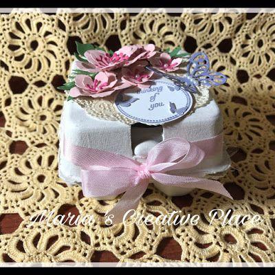 Stampin Up, Mini Egg Carton Botanical Builder Framelits, Easter Treat, Mother's Day Gift