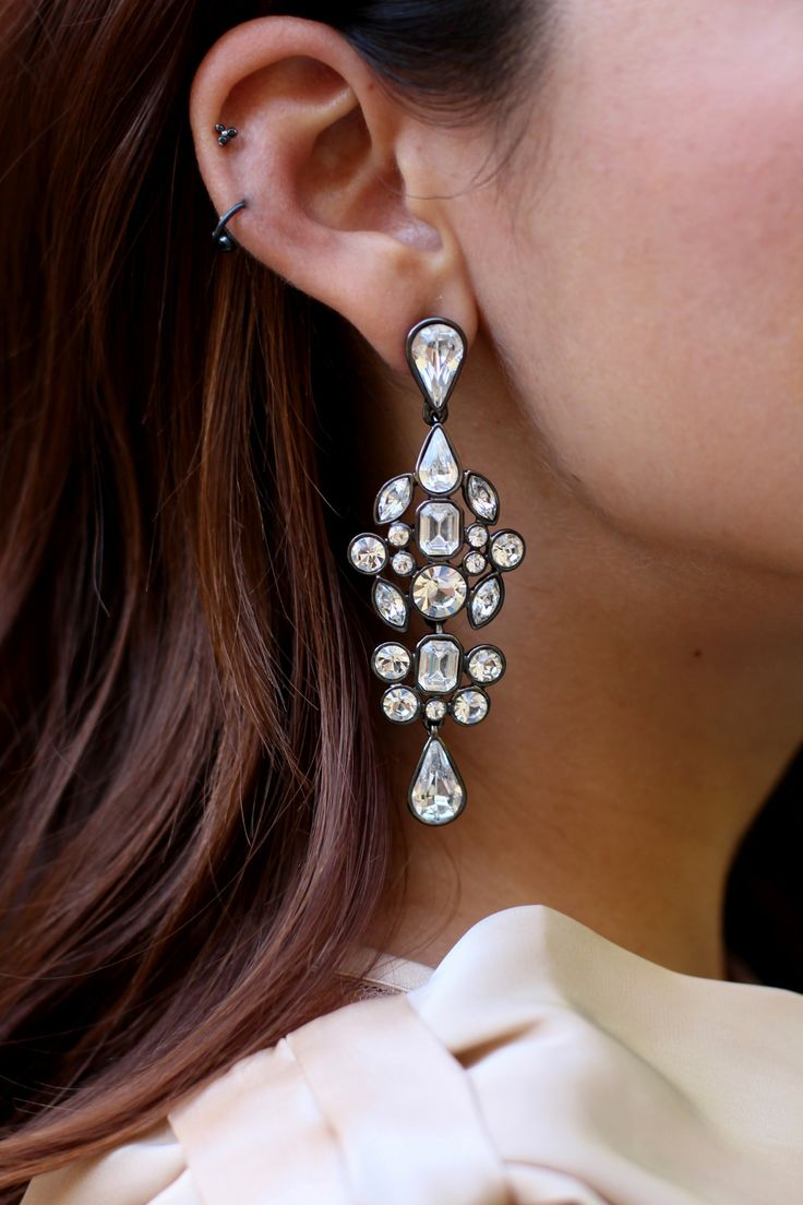 Statement Earrings @fyitv New Series, Style Unzipped Reveals Stories Behind  Styles You Thought You
