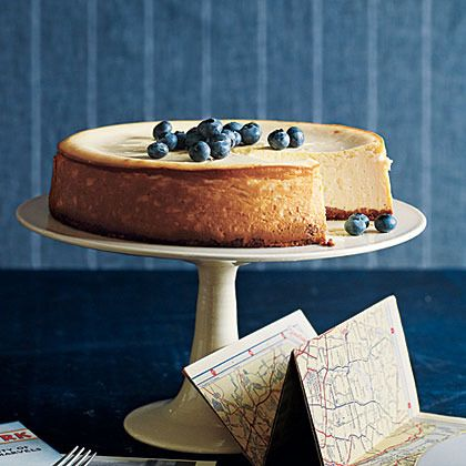 New York Cheesecake by Cooking Light | Cheesecake , Cheese Cake | Pin ...